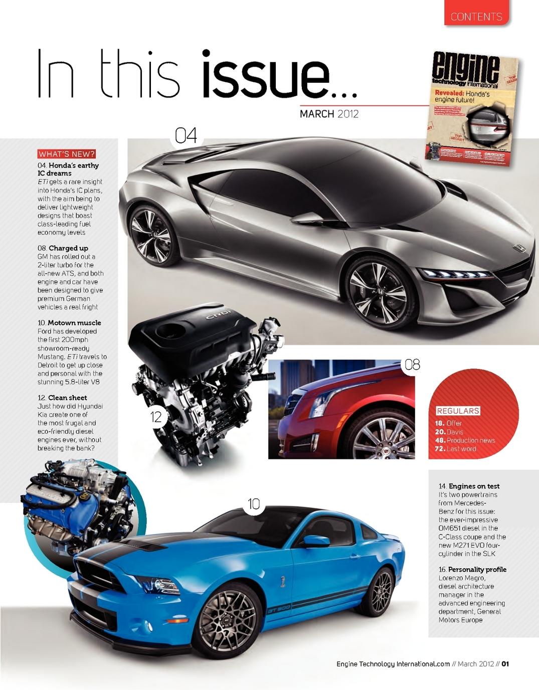 March 2012 Engine Technology International - UKi Publication Viewer