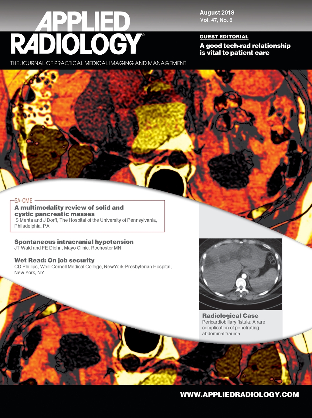 August 2018 Applied Radiology