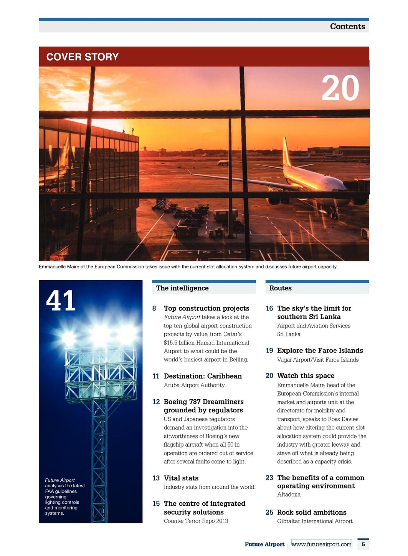 Future Airport Issue 1 2013