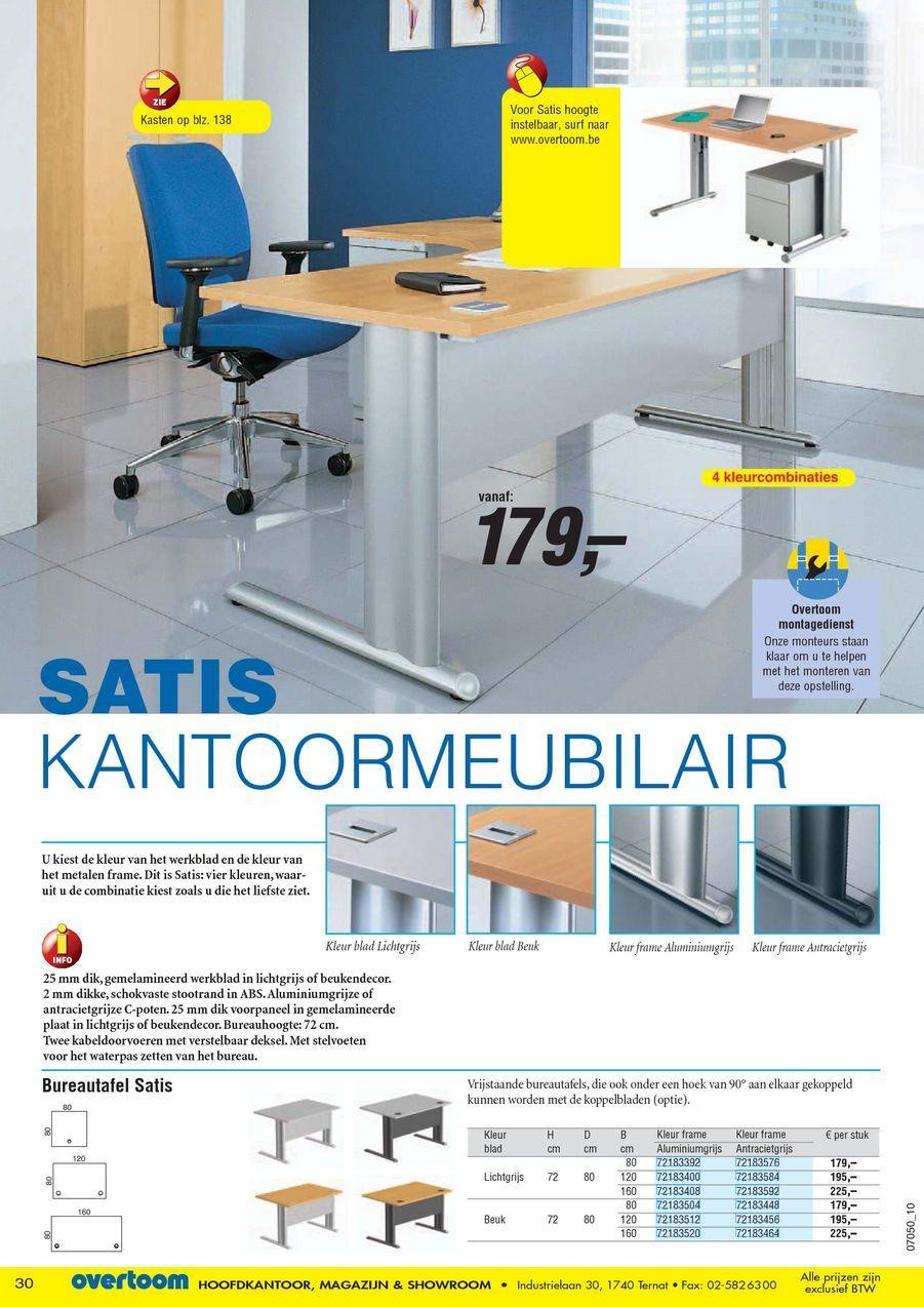 Bureaustoel Vaste Poten.Kantoorgids 2010