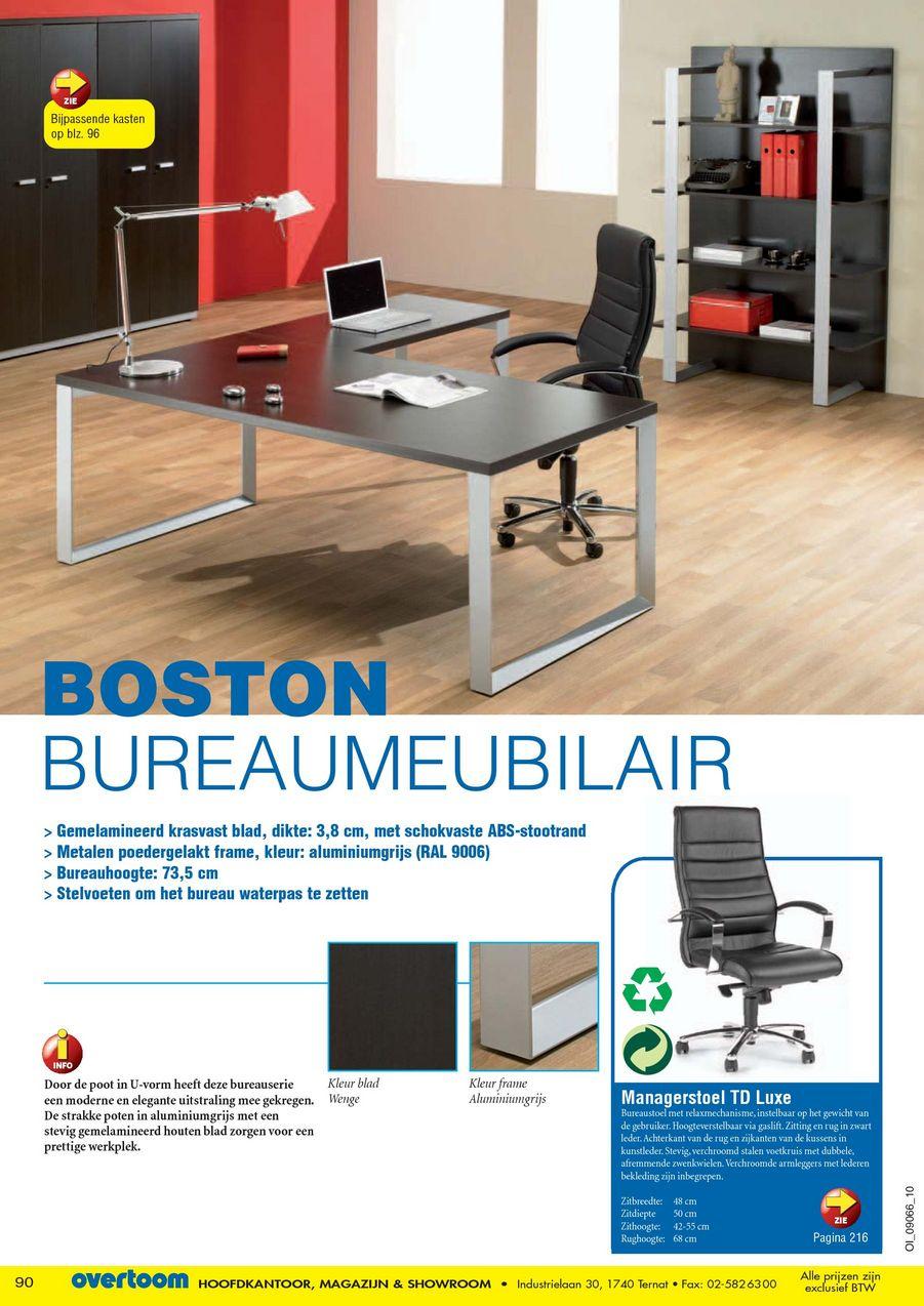Mooie Stevige Bureaustoel.Kantoorgids 2010