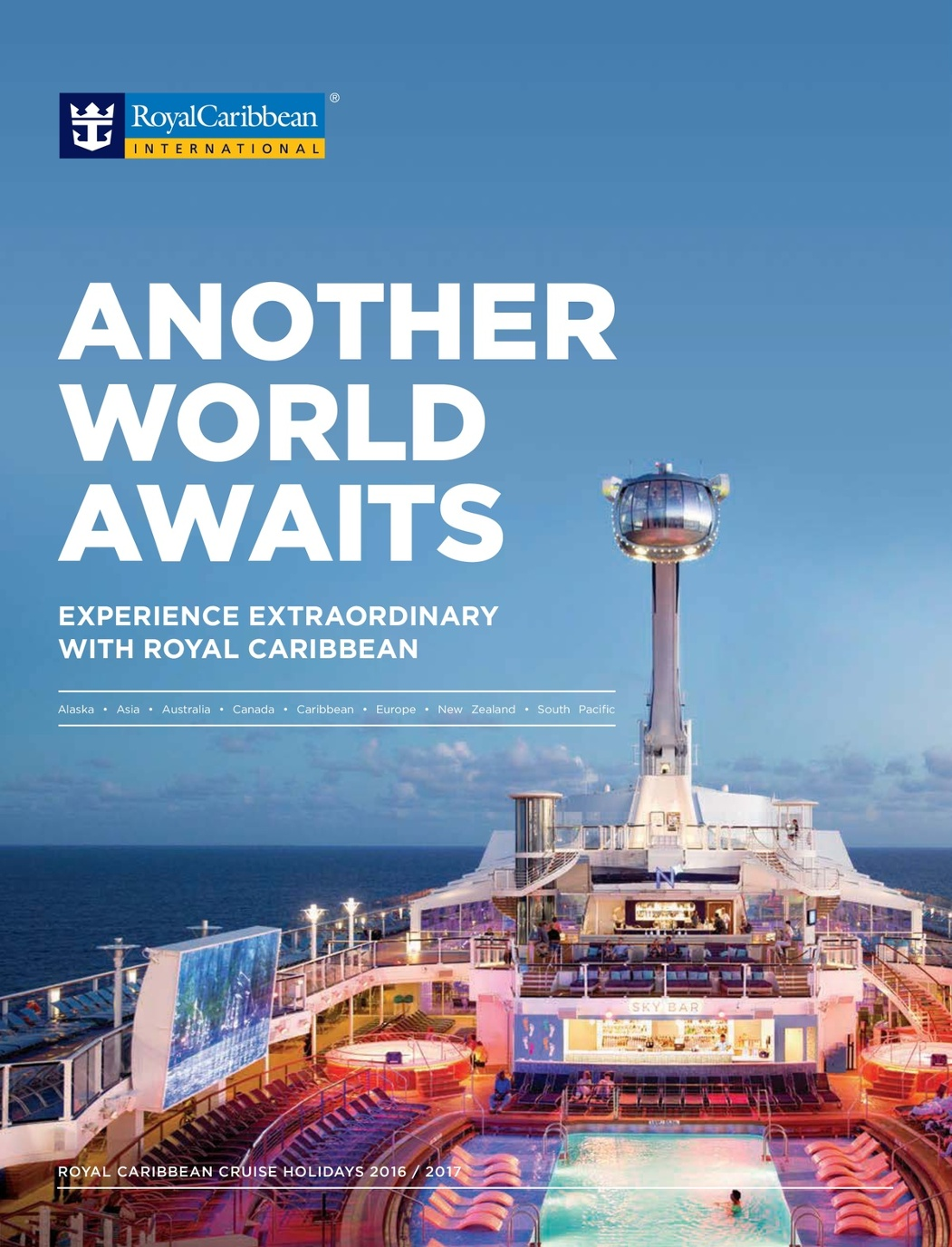 Royal Caribbean Worldwide holidays 2016-2017, 2nd edition