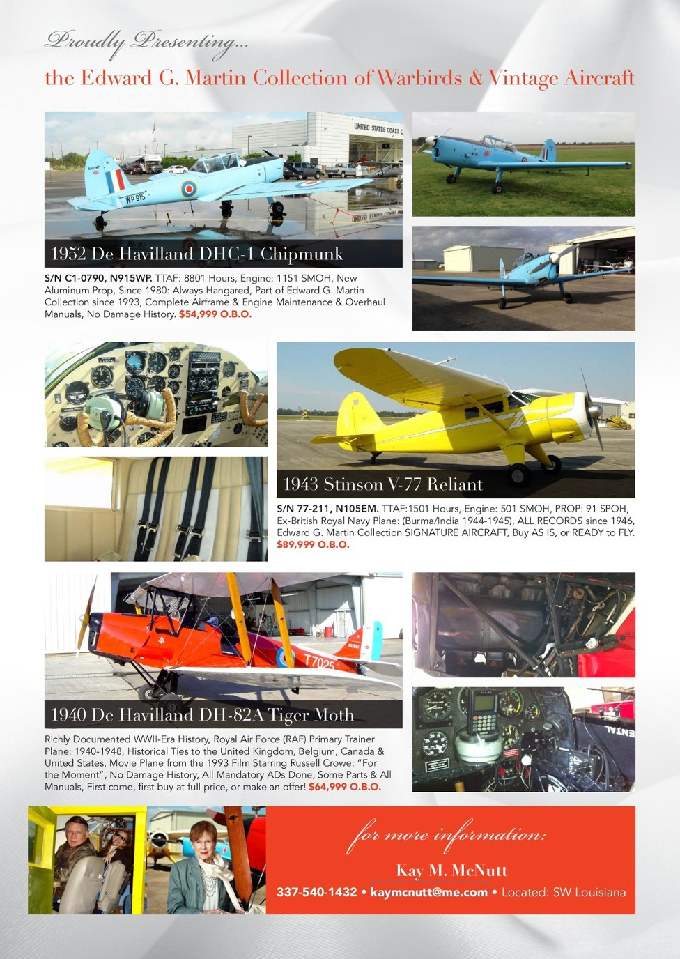 Warbirds & Vintage Aircraft - Issue 4 2018