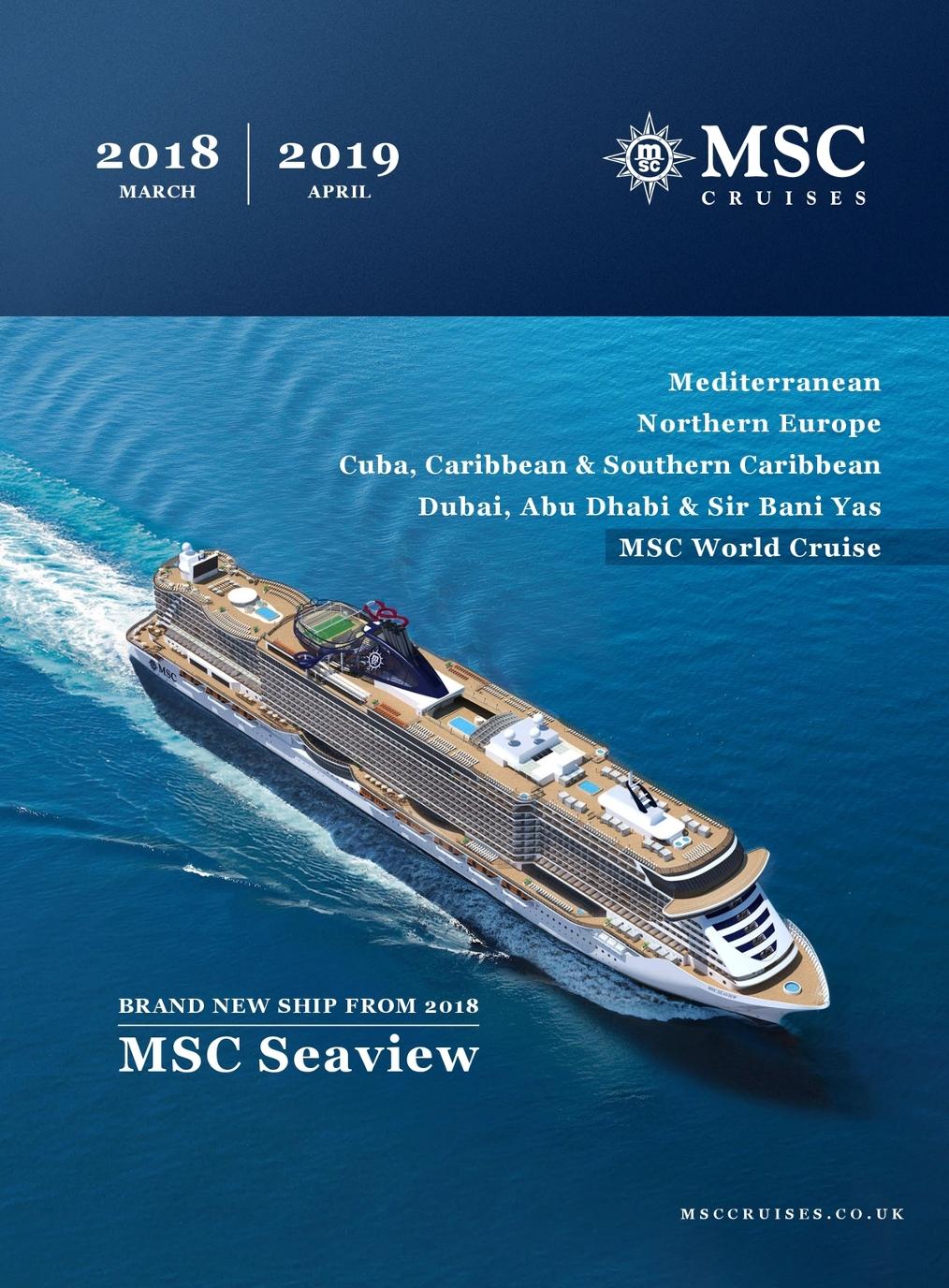 MSC Cruises - Brochure 2018-2019