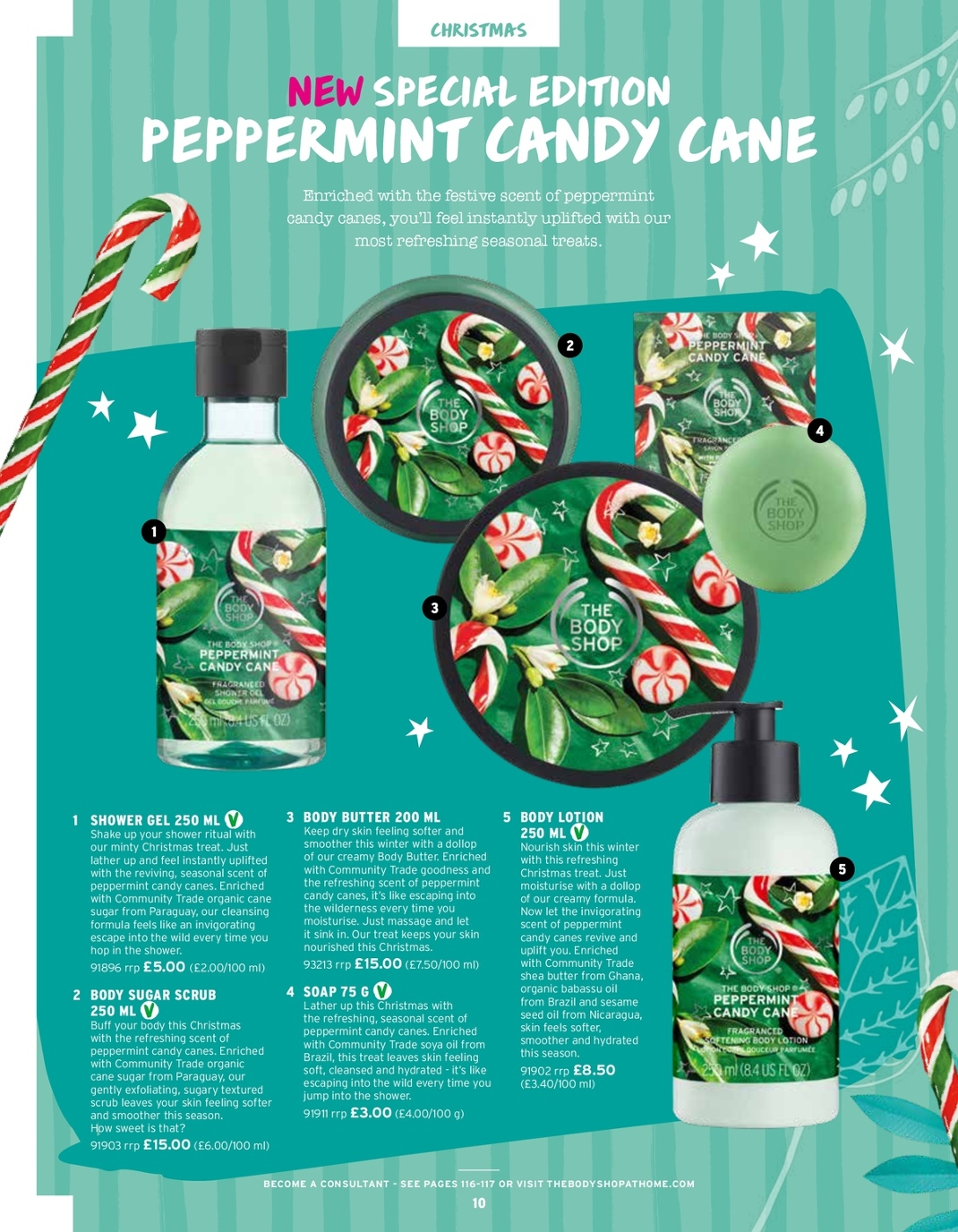 The Body Shop At Home Christmas Catalogue 2018
