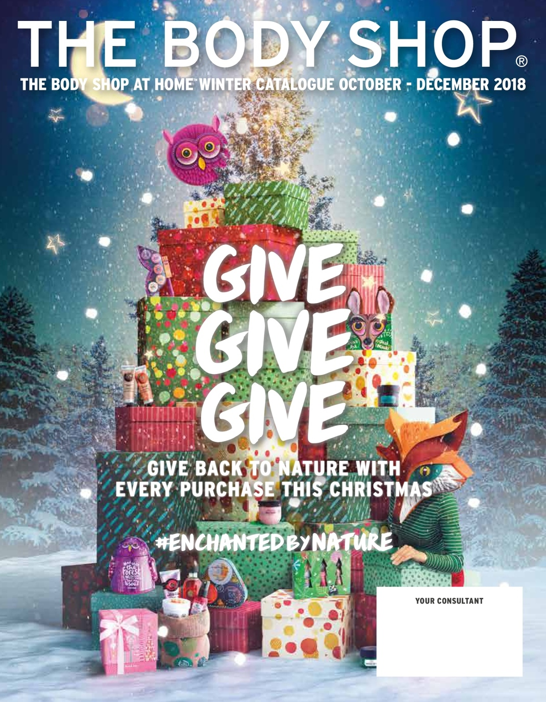 the body shop at home christmas catalogue 2018 rh viewer zmags com home body showers body shop at home consultant login