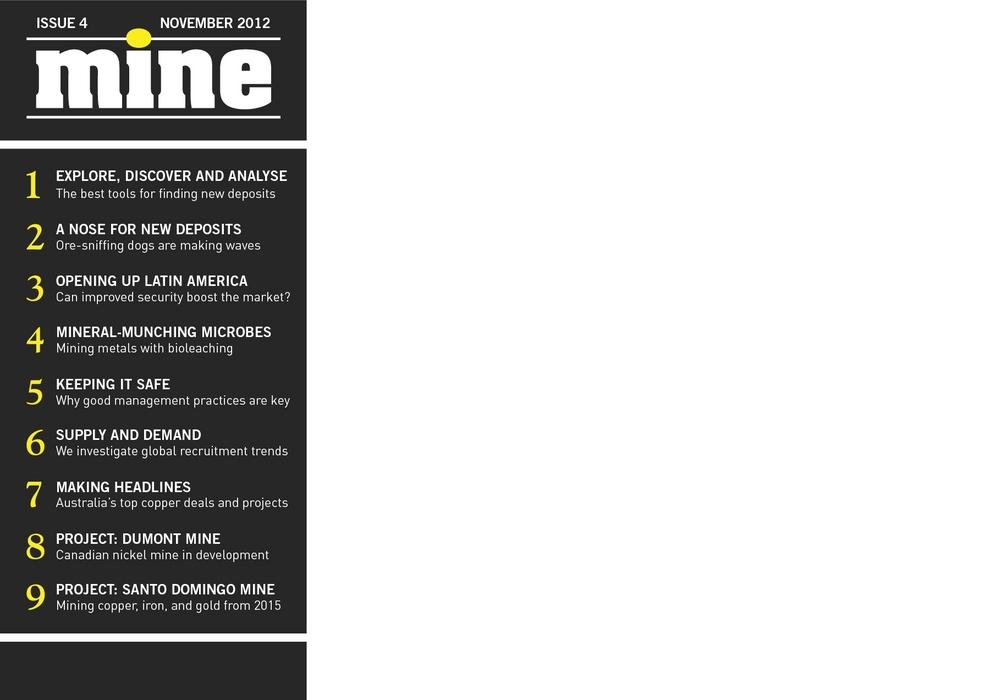 MINE | Issue 4 | November 2012