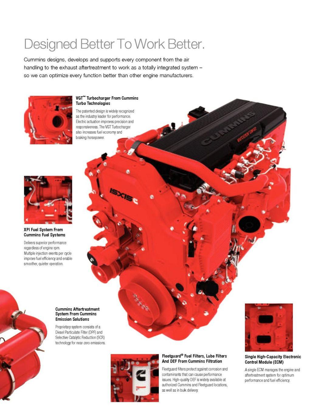 Cummins2013 Isx15 Brochure High Performance Diesel Fuel Filters Page 5