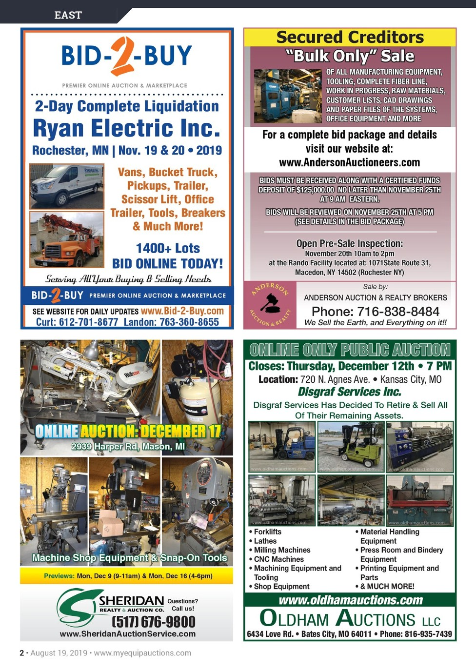 Myequipauctions Industrial 11182019