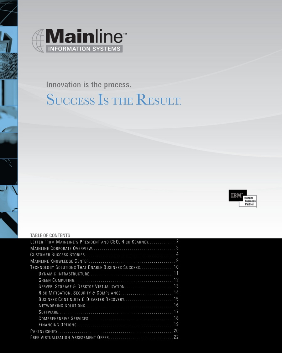 Mainline Solutions Catalog