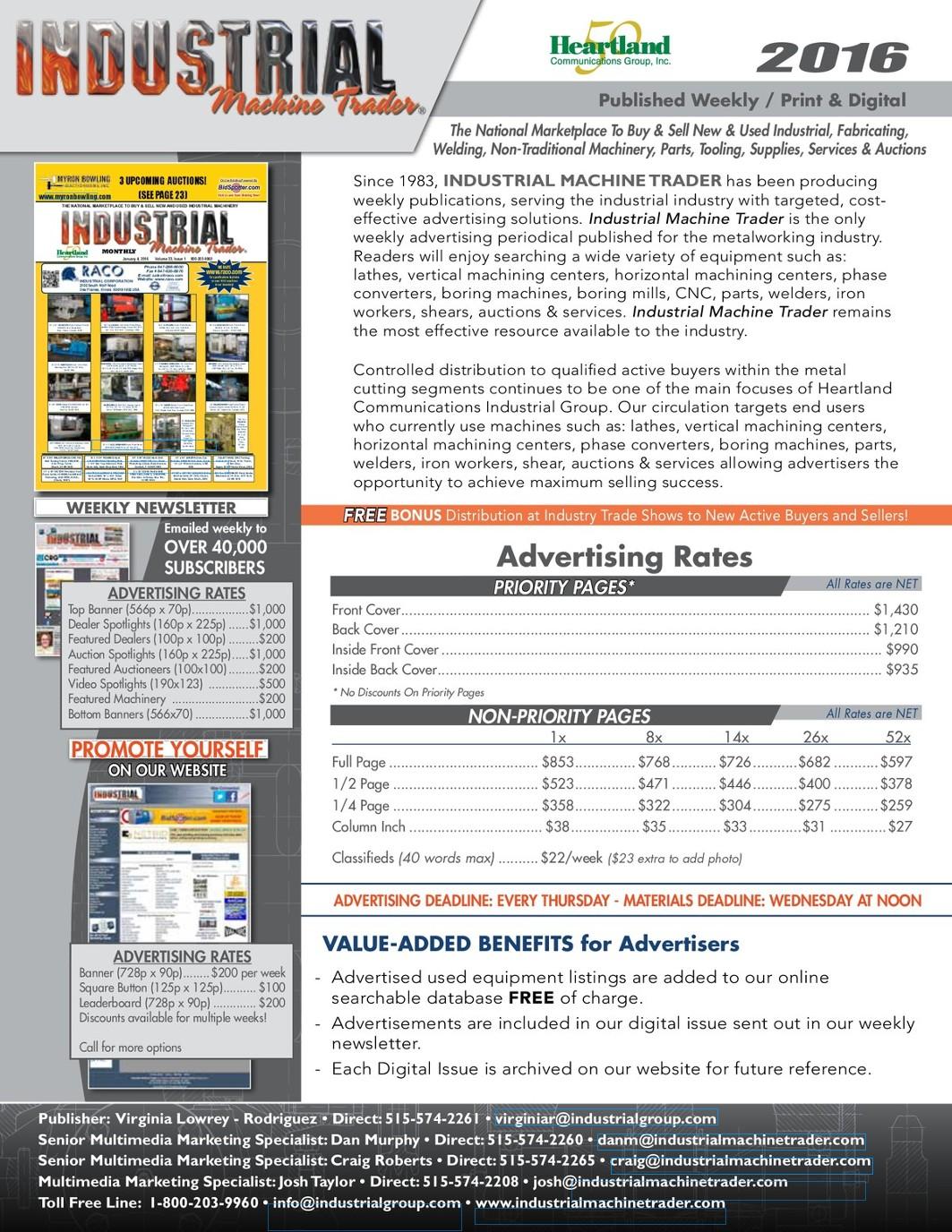 2016 IMT Media Kit