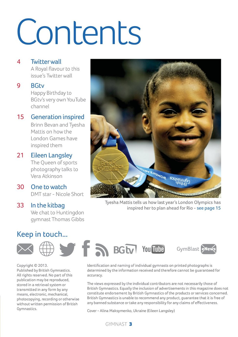 the gymnast e zine  page 3
