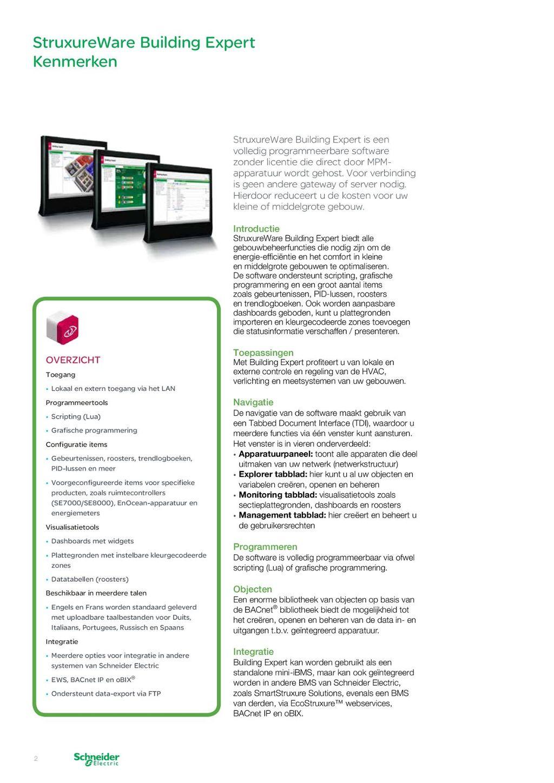 Schneider Electric Nl Brochure Smartstruxure Lite