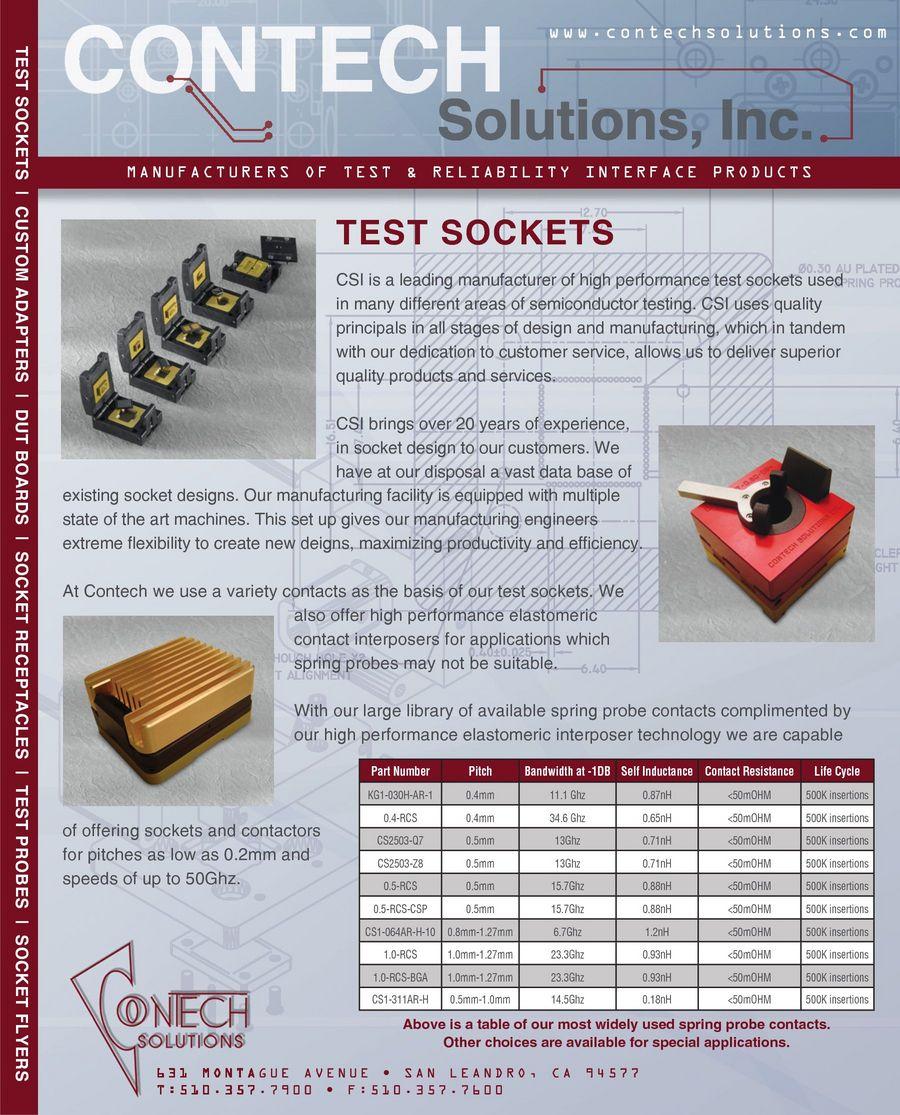 Contech Solutions, Inc