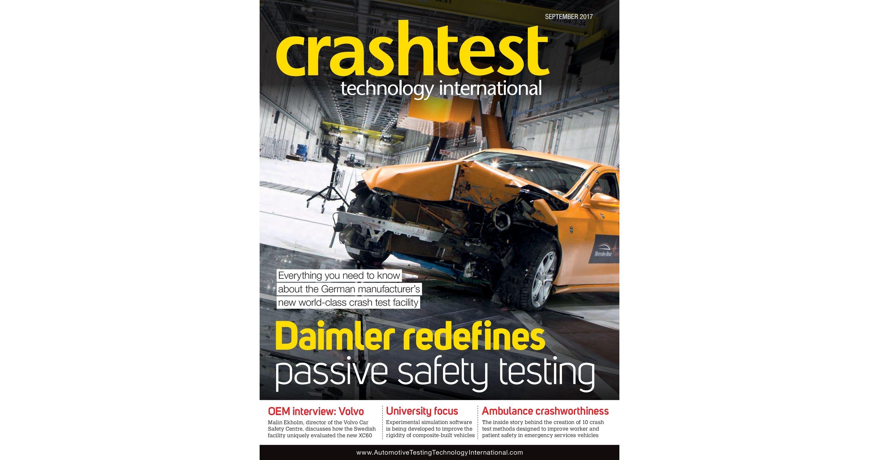 Crash Test Technology International - September 2017