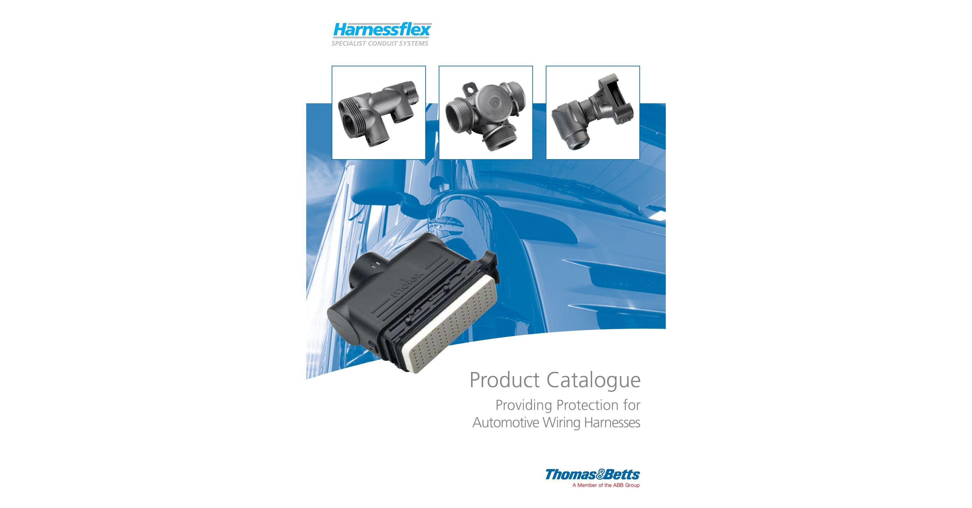 harnessflex providing protection for automotive wiring harnesses