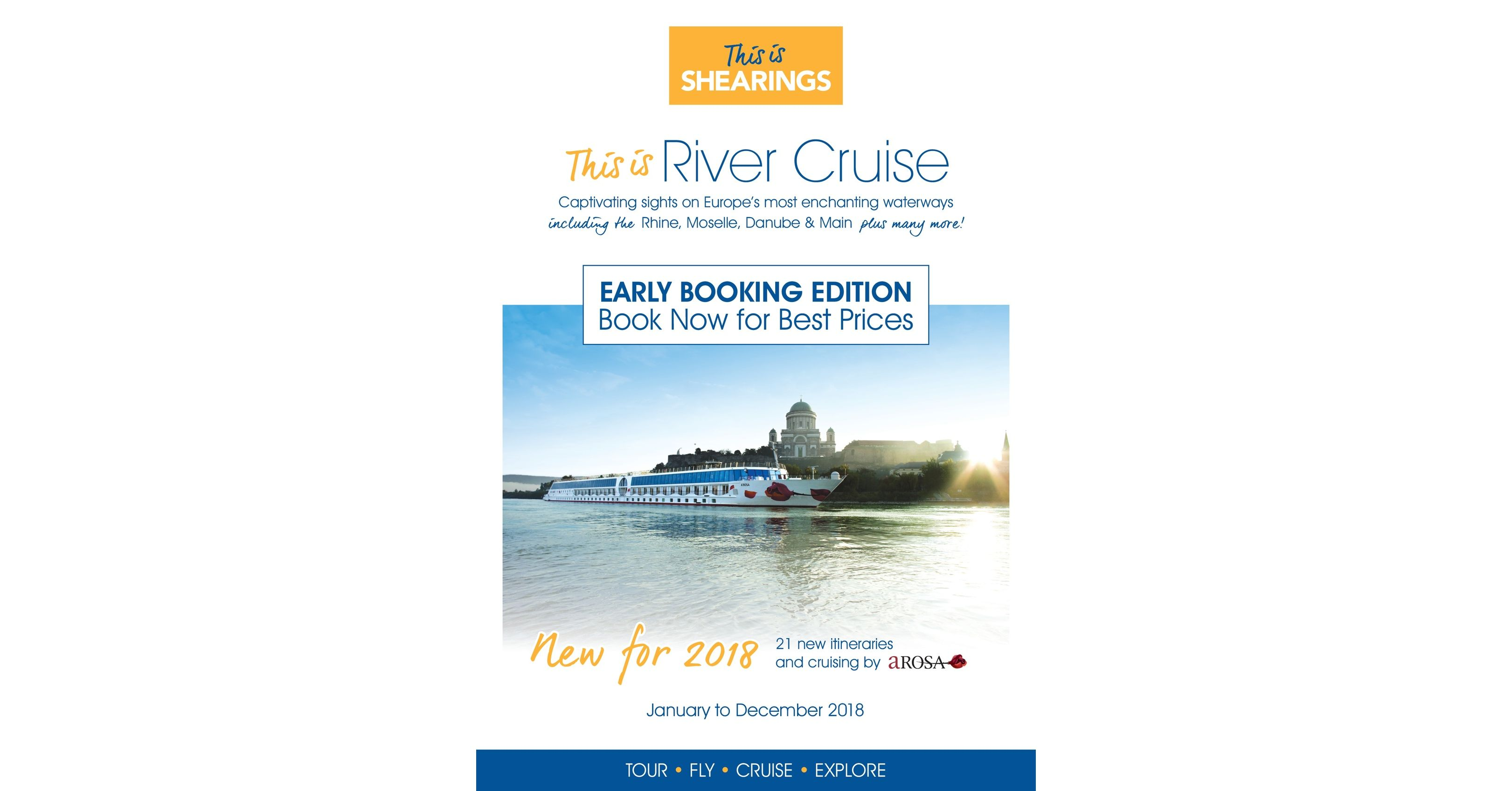 Shearings 2018 River Cruise Brochure