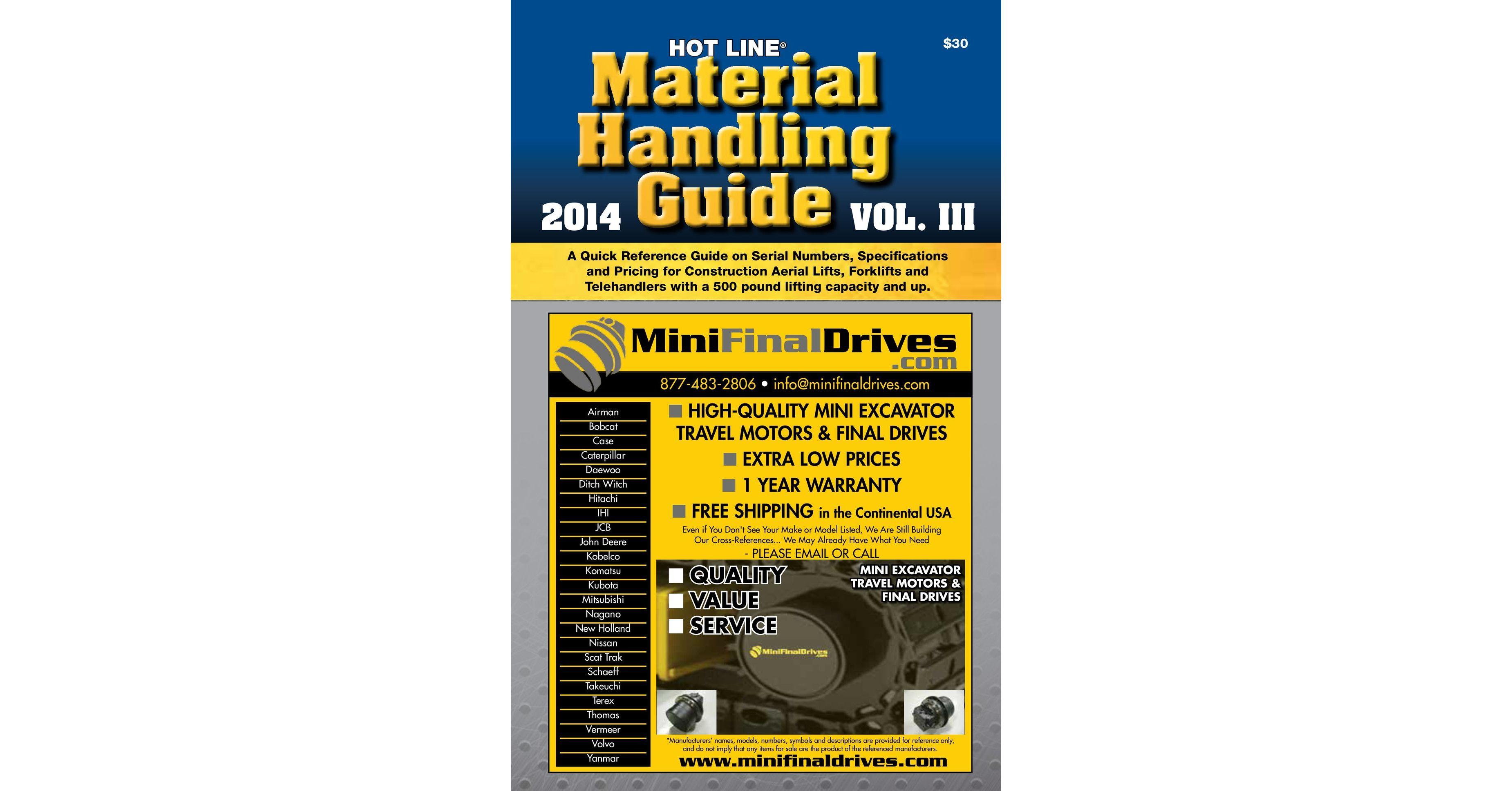 Material Handling Guide