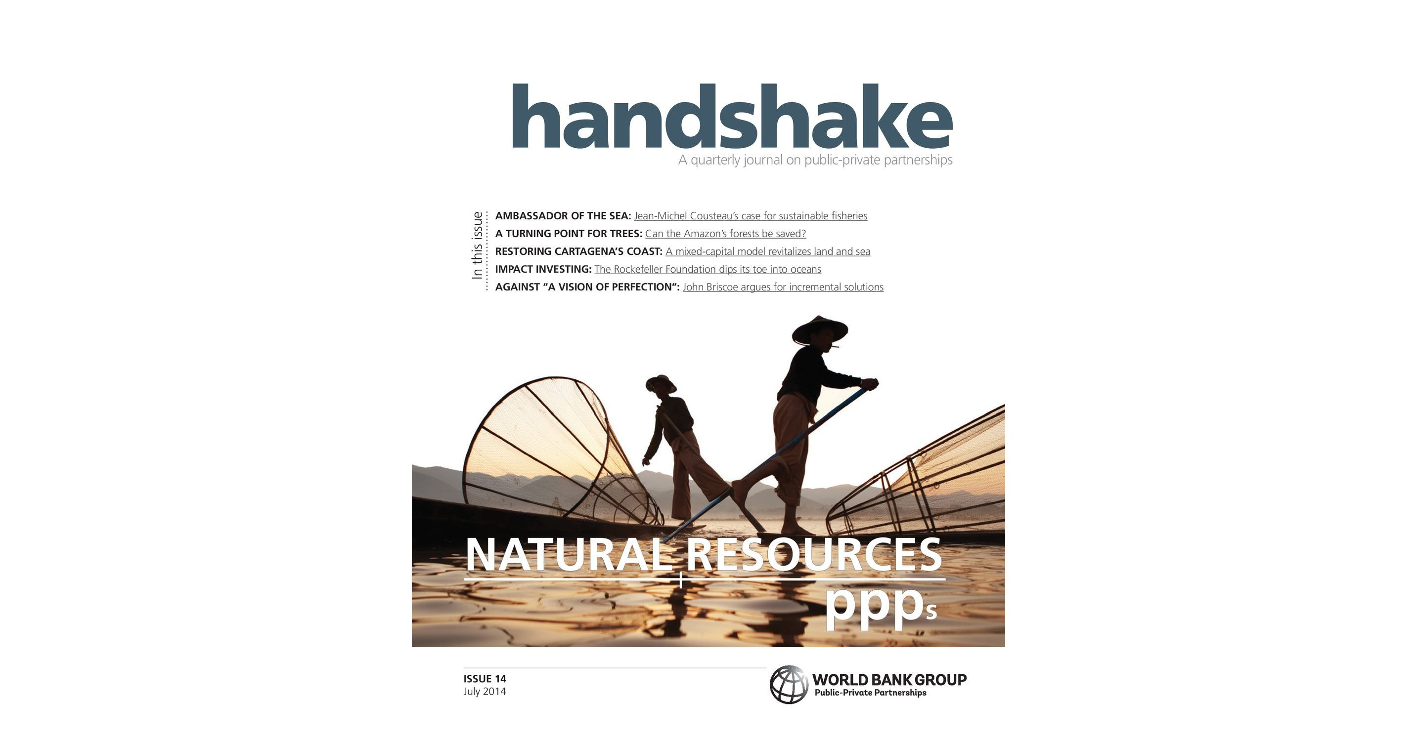 Handshake Issue #14: Natural Resources & PPPs