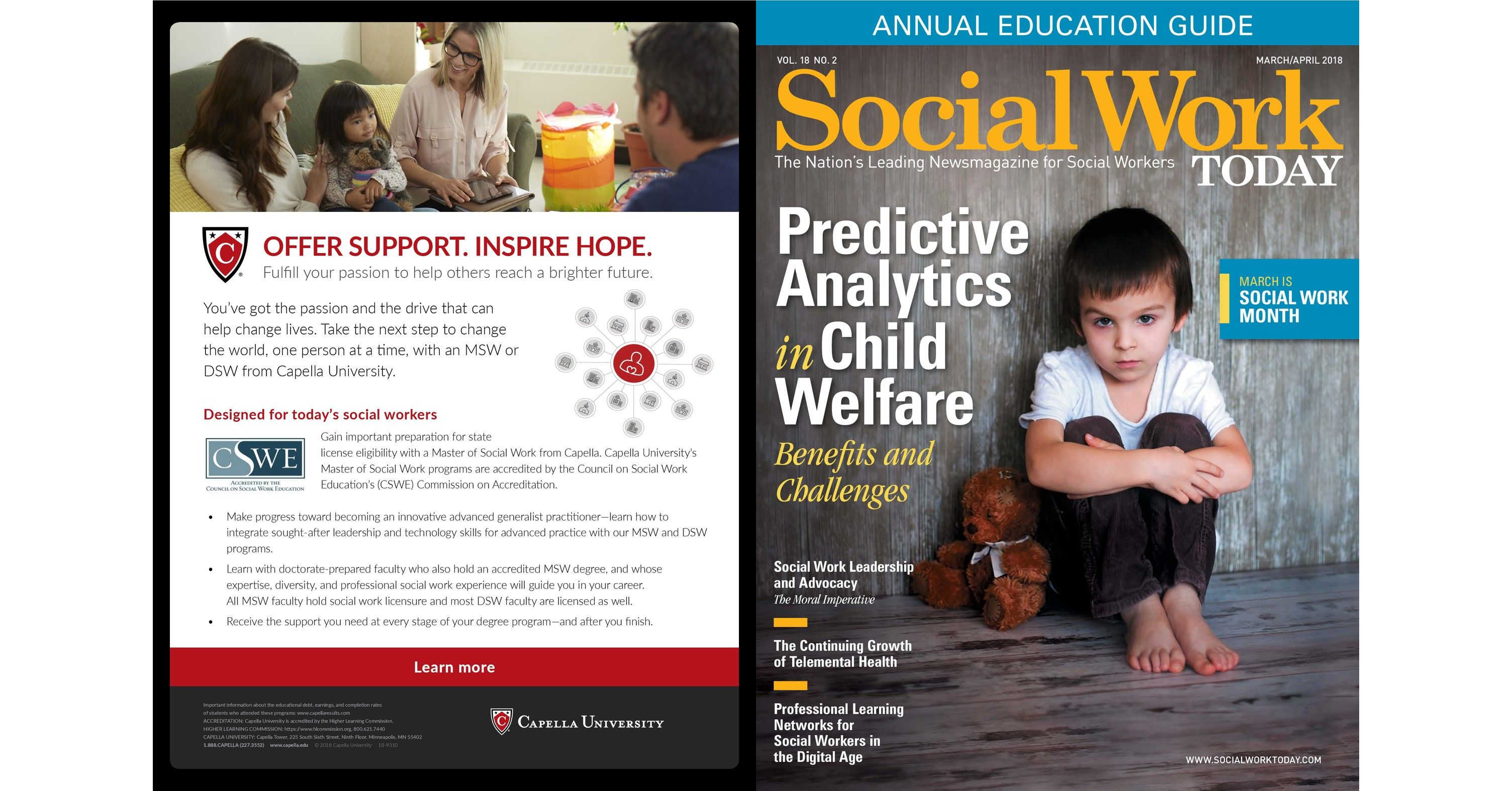 March/April 2018 - Social Work Today