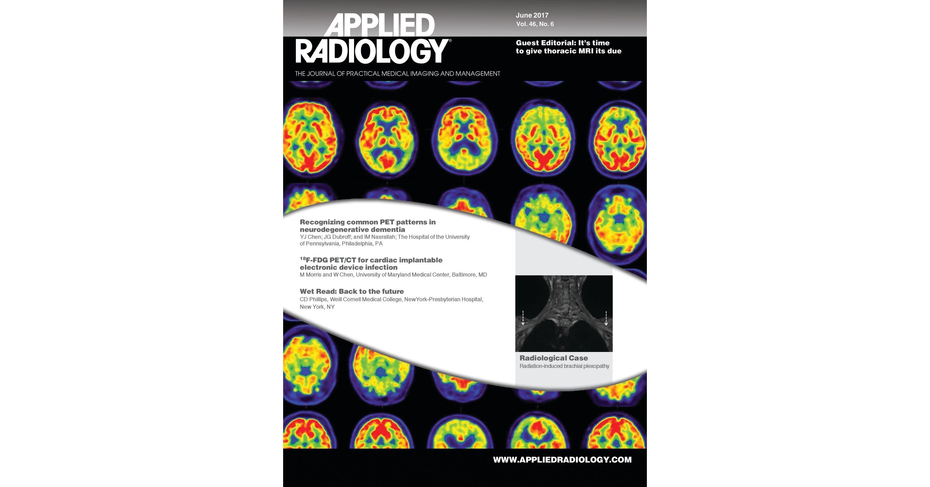 June 2017 Applied Radiology
