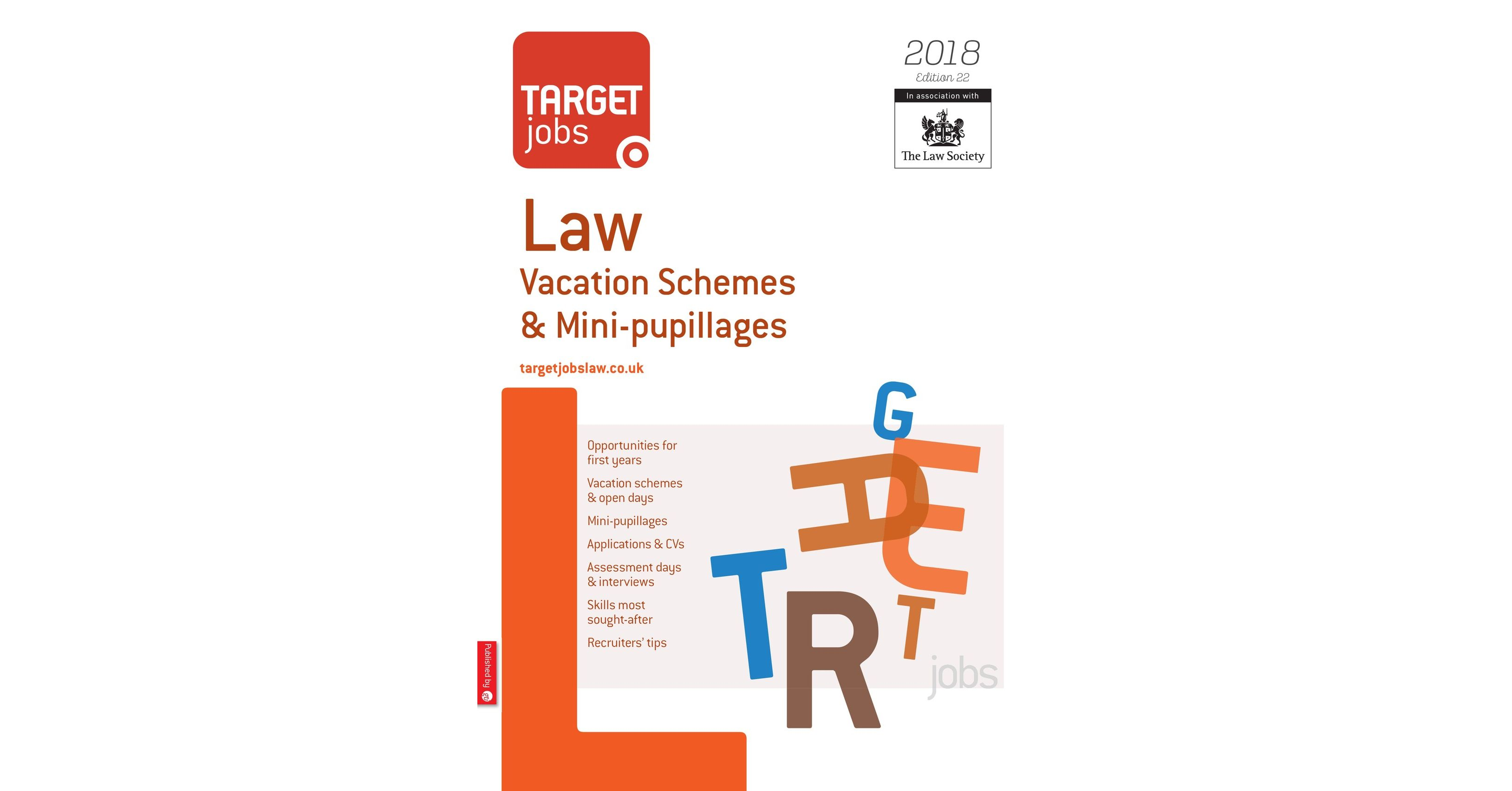 Targetjobs law vacation schemes mini pupillages 2018 madrichimfo Images