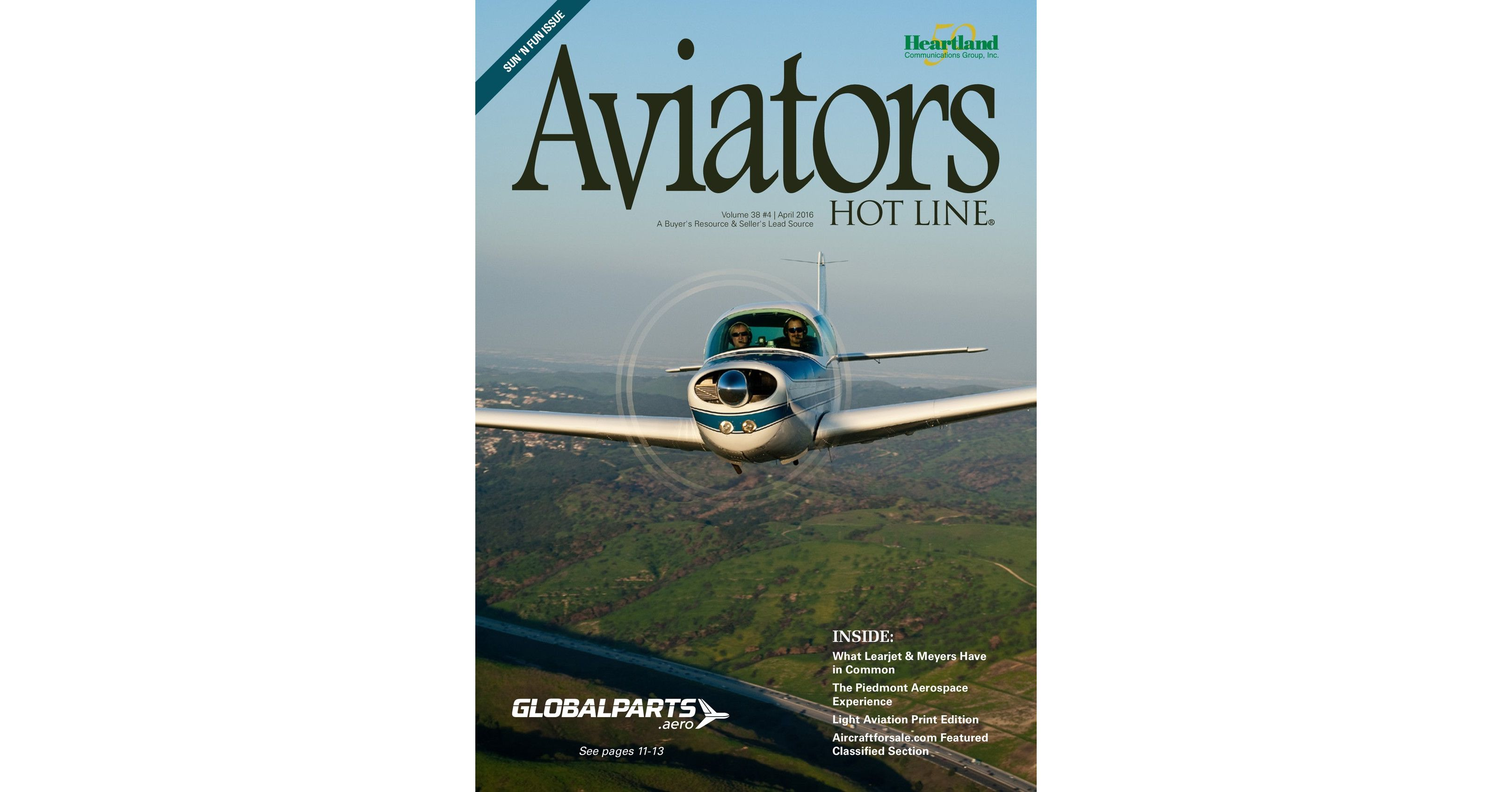 Aviators Hot Line - April 2016
