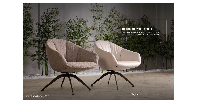 Comfortabele Design Fauteuil.Topform Collectieboek 2018