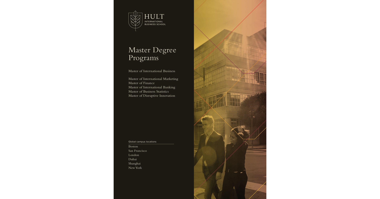 Hult International Business School Master Programs Brochure