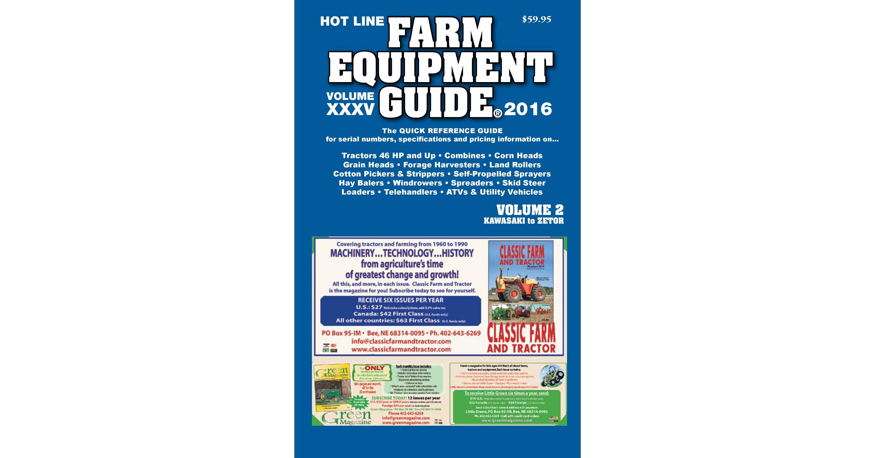Farm Equipment Guide Annual