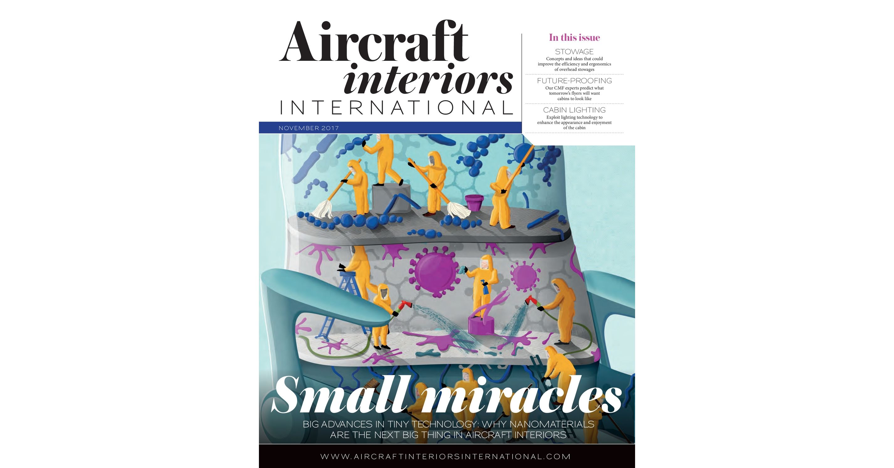 Aircraft Interiors International - November 2017