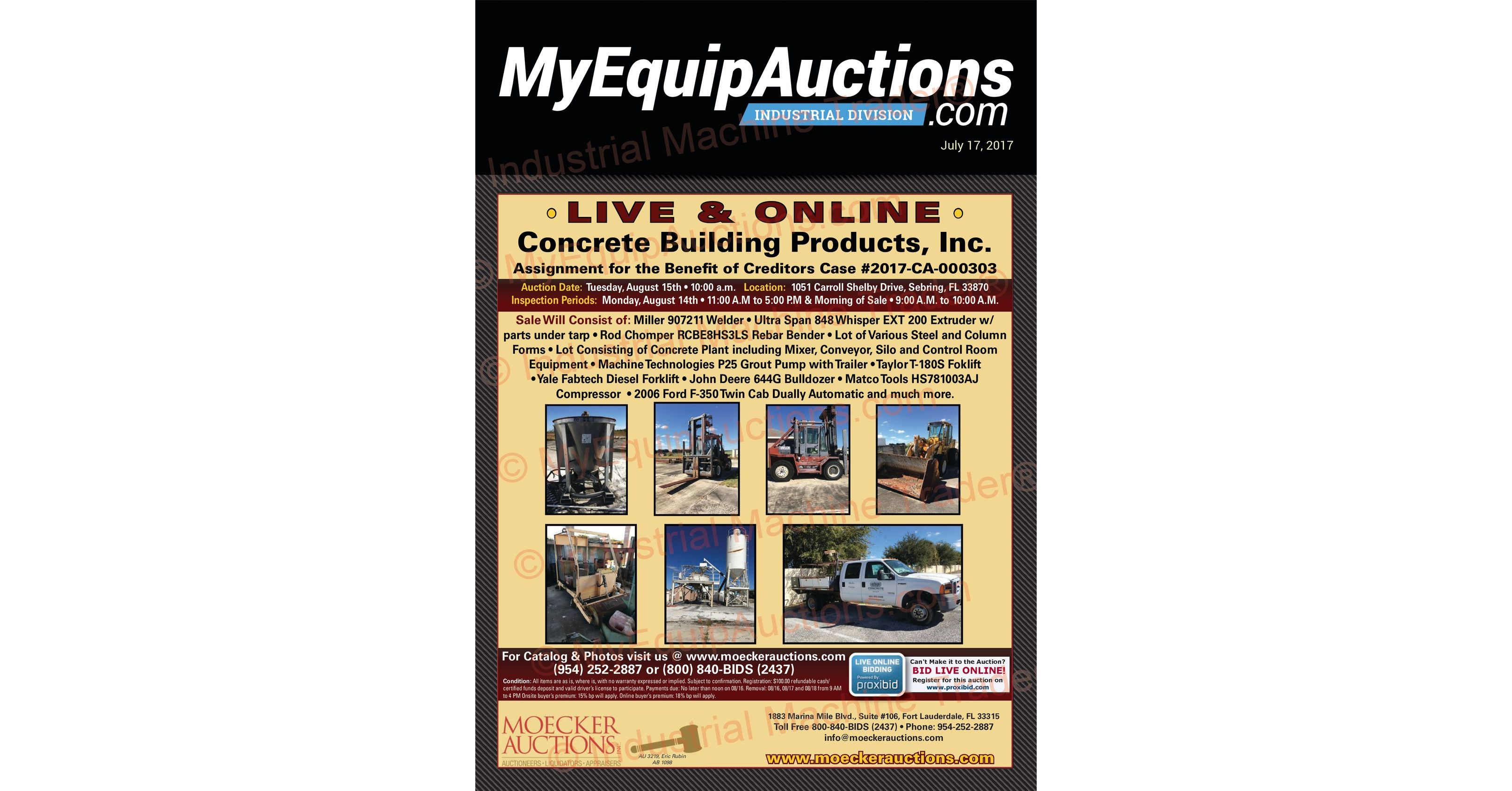 MyEquipAuctions - Industrial - 07172017