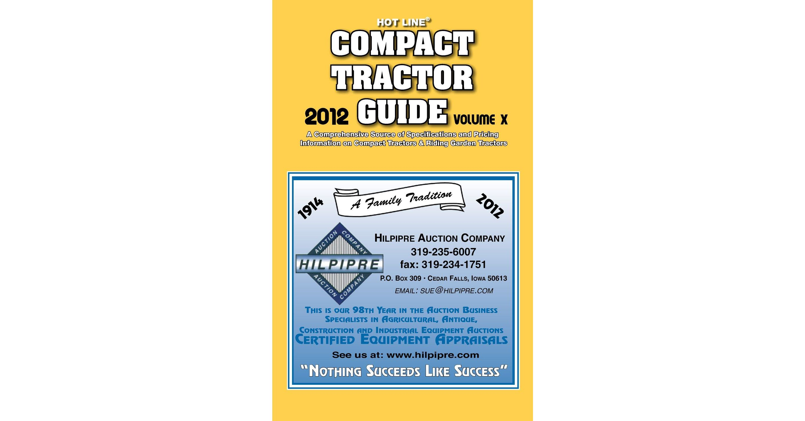 Compact Tractor Guide