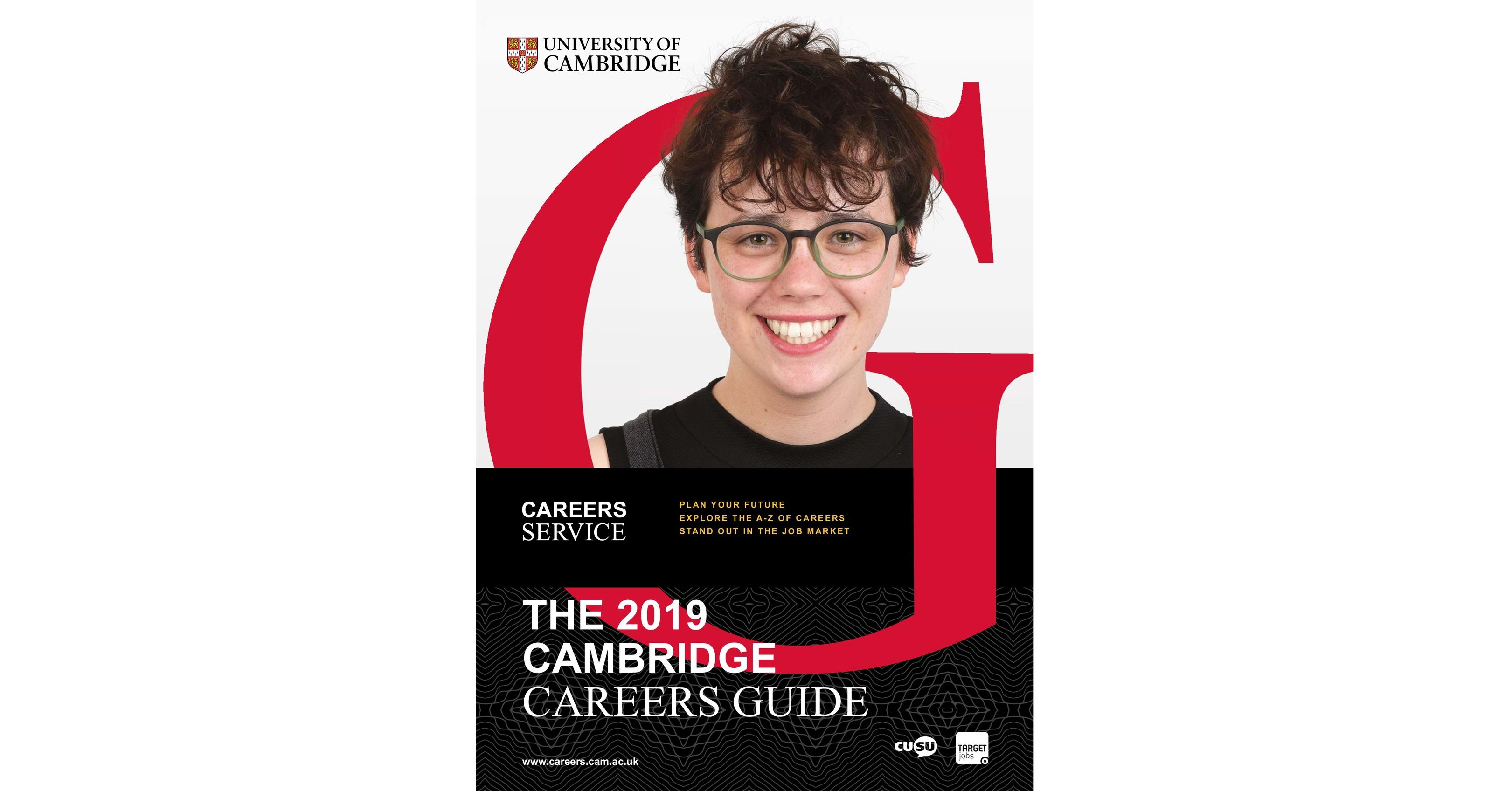 THE 2019 CAMBRIDGE CAREERS GUIDE
