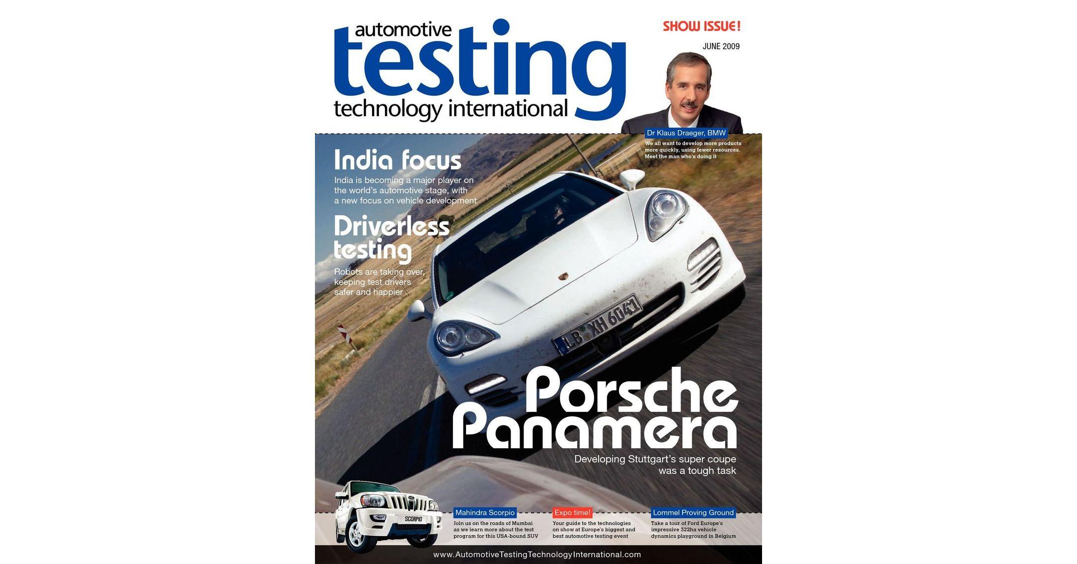 Automotive Testing Technology International June 2009
