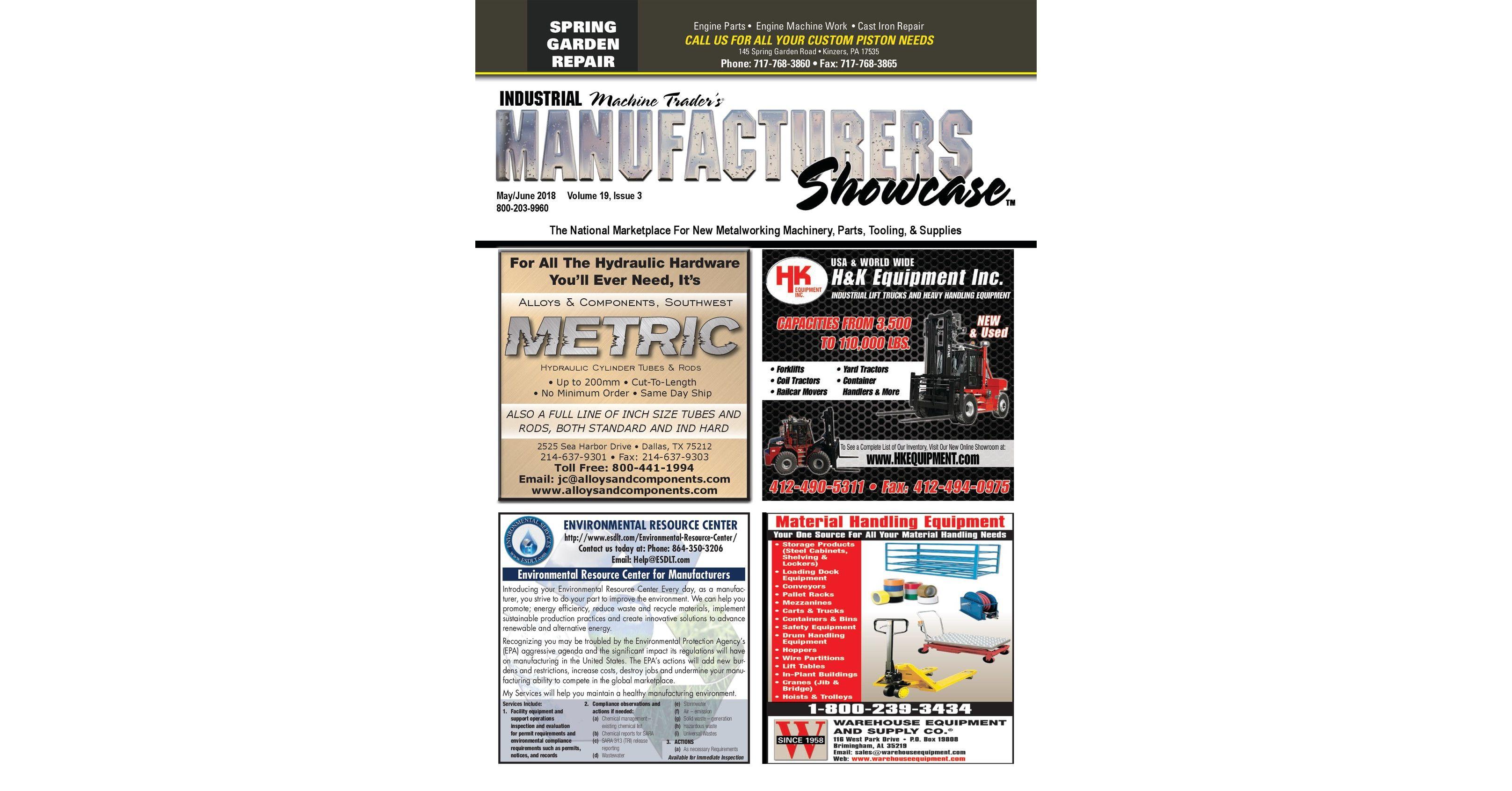 Industrial Machine Trader S Manufacturers Showcase