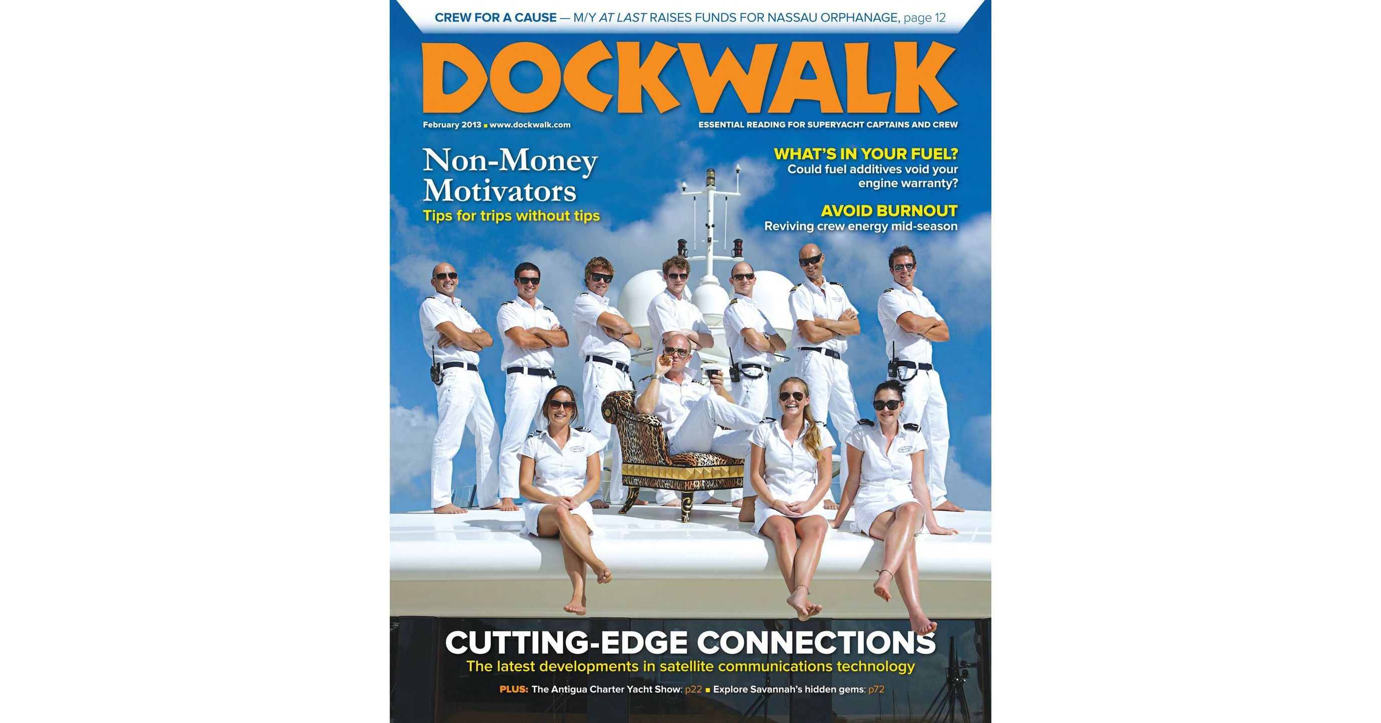 Dockwalk - February - 2013