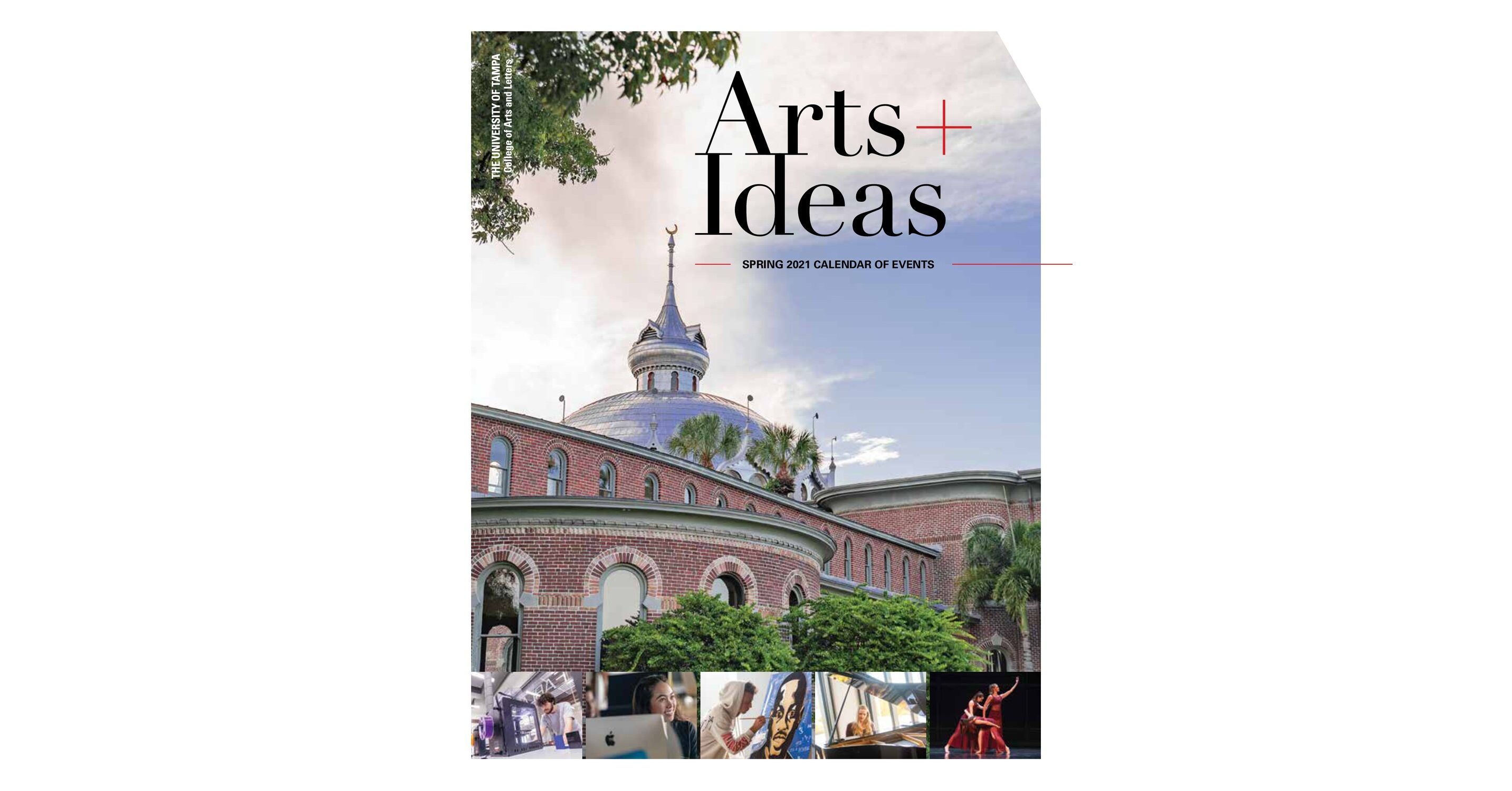 University Of Tampa Calendar.Cal Arts Ideas Eventsbrochure 2018 2019