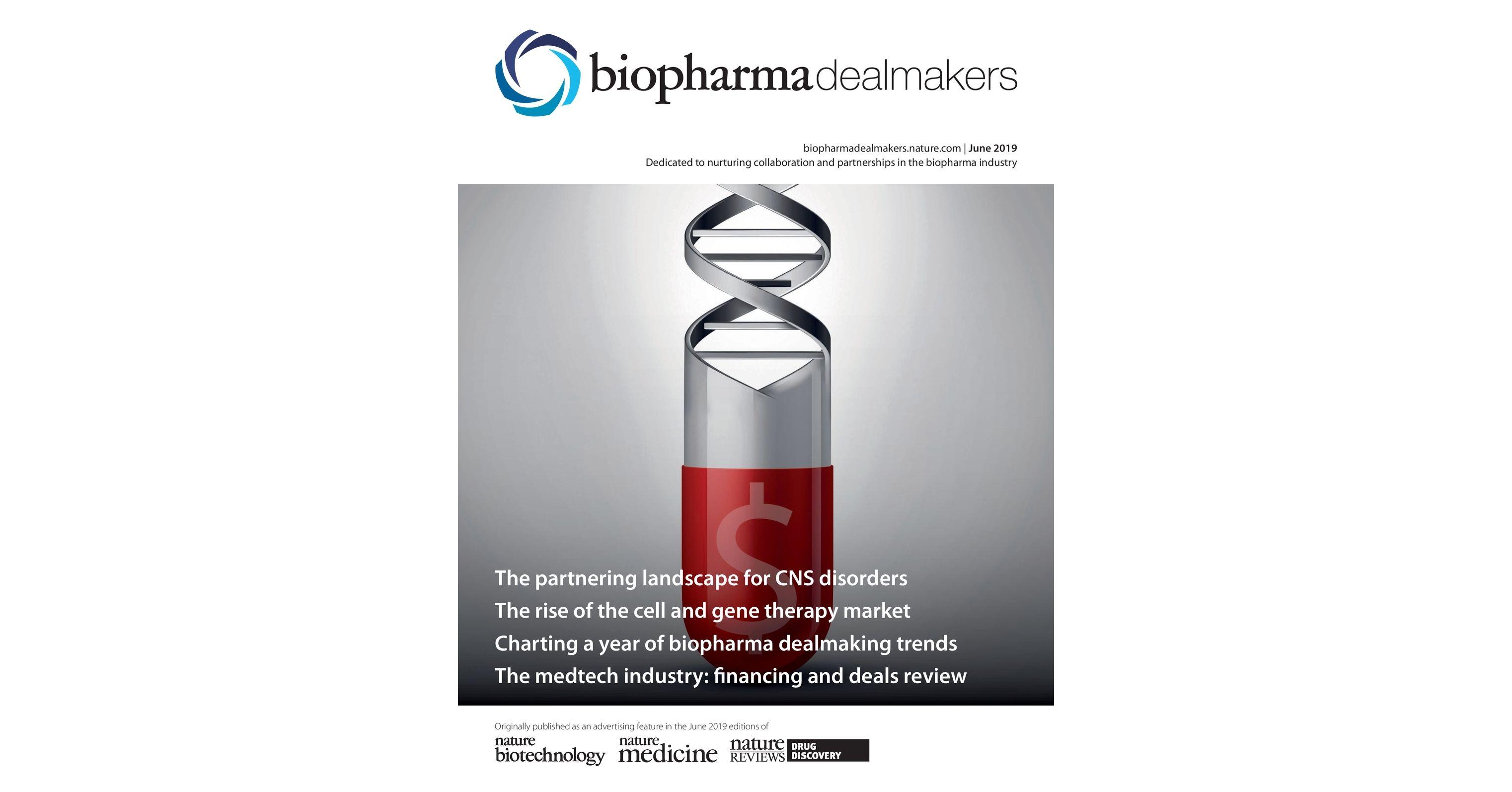 BioPharma Dealmakers June 2019