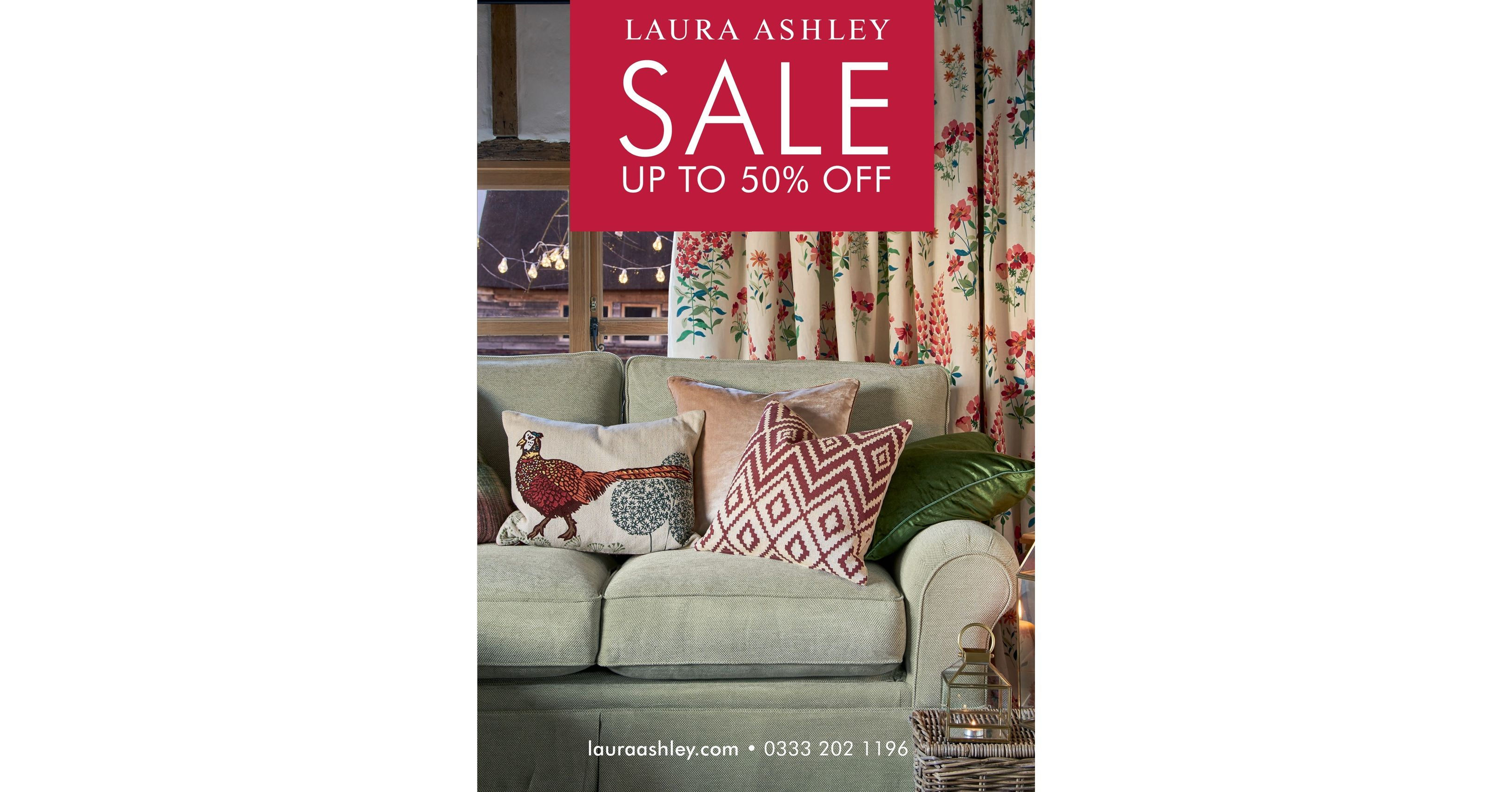 Find the best deals at the lowest prices with our Laura Ashley promo codes and deals.