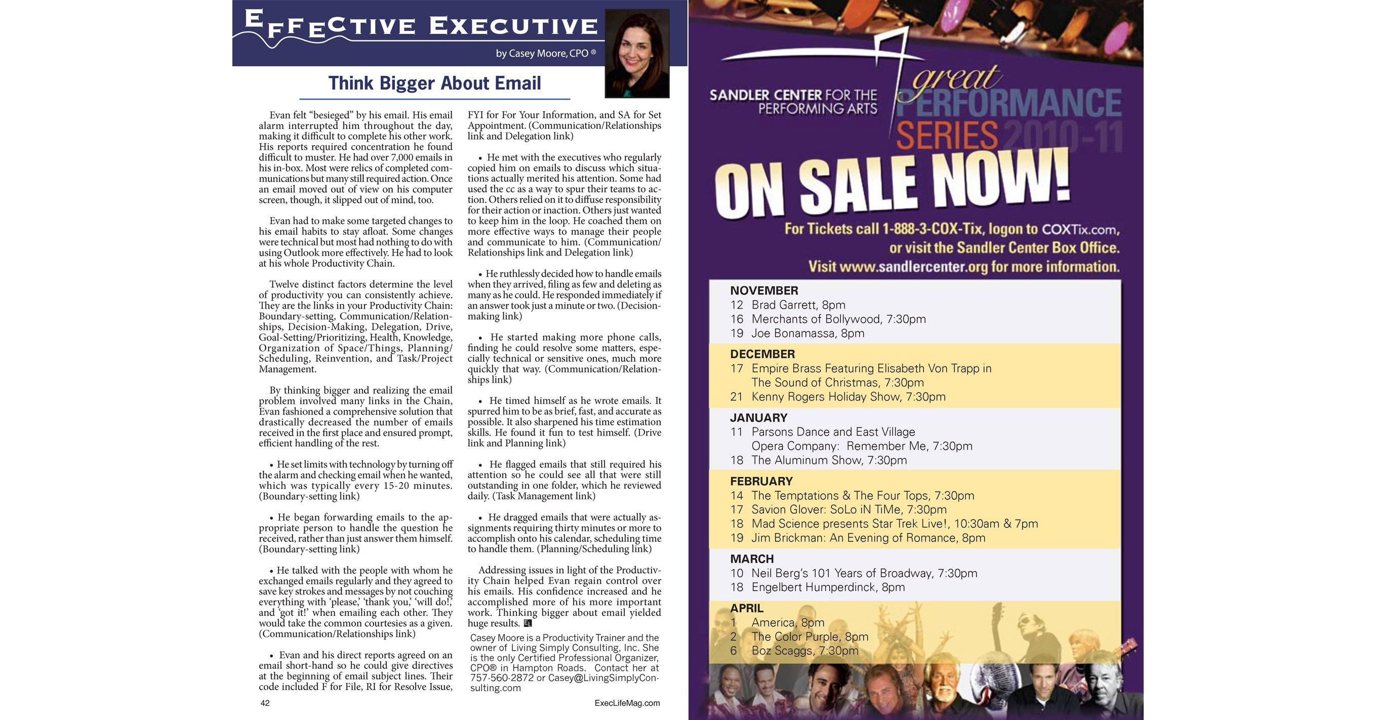 Executive Lifestyle Magazine