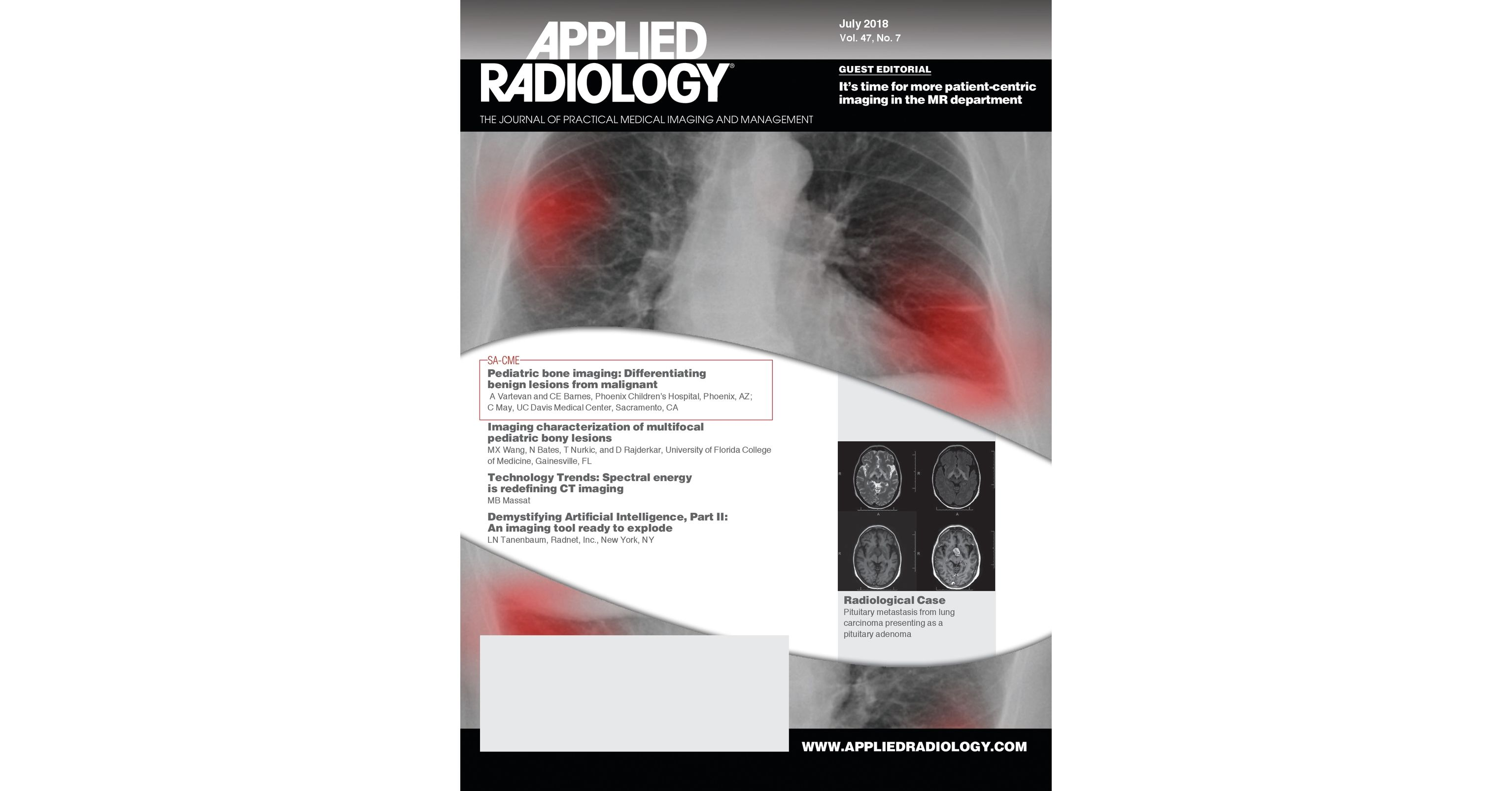 July 2018 Applied Radiology